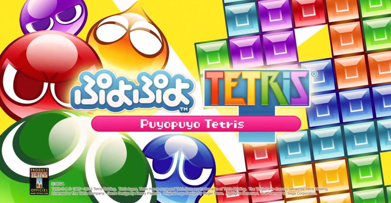 puyo puyo tetris principaux menus